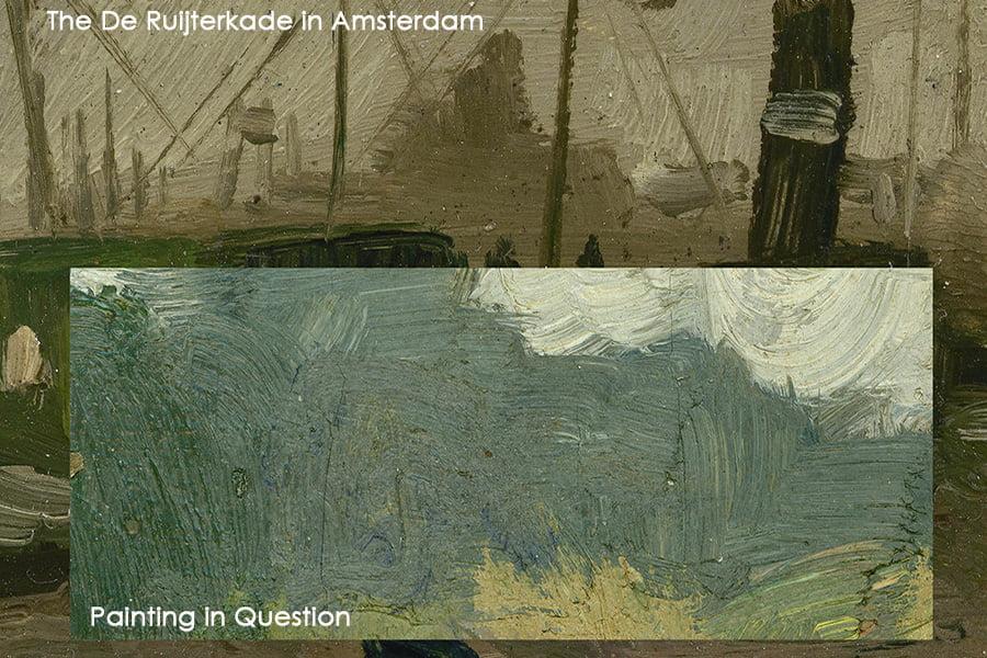 The De Ruijterkade in Amsterdam