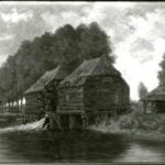 Landscape with Gennep Watermill - AK and/or VvG