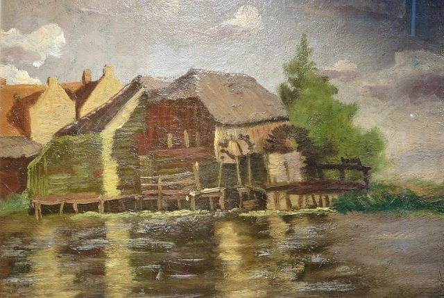 kerssemakers Water Mill at Gennep