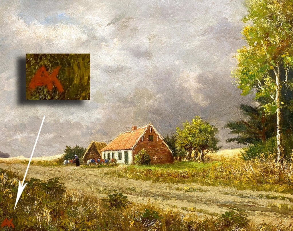 Anton Kerssemakers Approaching-Rising-Storm-with-Signature