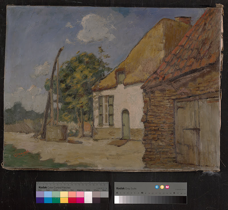 Vincent Van Gogh mystery painting